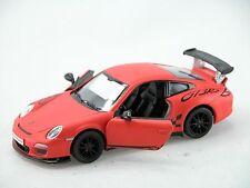 Kinsmart 2010 Porsche 911 GT3RS (MatteOrange)1:36 Die Cast Metal Collectable Car