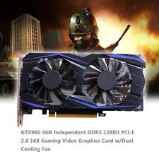 GTX960 Graphics Card 4GB DDR5 128Bit PCI-E 2.0 16X Gaming Video Card w/Dual Fan
