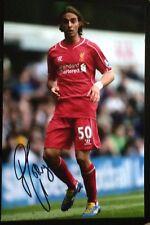 Lazar Markovic signed Liverpool 12x8