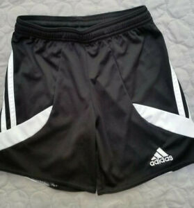 Boys Adidas Sports Shorts Black Age Approx 5 Years. Very Good Condition