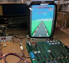Turbo Sega Arcade Circuit Board, PCB, Boardset, Works, 1981