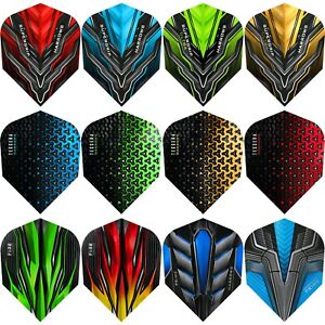 Harrows Dart Flights Tough No 6 Standard 1-10 Sets Supergrip Tessera Swarm