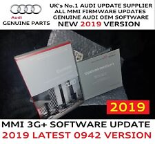 Audi A4 A5 MMI 3G+ Plus Genuine S/W SD Card 0942 2019 Maps 6.27.2 Full Pack