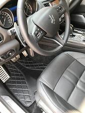 Maserati Levante SUV Floor Mats Durable All weather Bespoke Hybrid leather