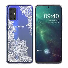 Samsung Galaxy S20 Ultra/S20 Plus/S10+ Mandala Lace Flower Cute Phone Case Cover