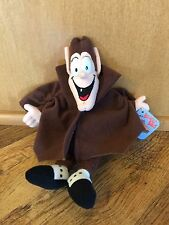 NEW 1997 GENERAL MILLS BREAKFAST BABIES COUNT CHAULA DRACULA PLUSH CCEREAL DOLL
