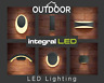 Outdoor Wall Lights Up Down LED Bricklight Lantern PIR Modern Garden Patio IP65