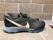 Nike Air Zoom Terra Kiger 5 Hiking Shoes Men's Size 13 Cargo Khaki Jade