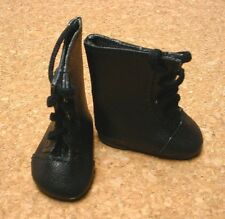 """Doll Shoes, 65mm BLACKLace up Boots for 16"""" Sasha"""