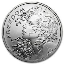 1 oz 999 Münze / Medaille Freedom Girl Silber Silver Shield AG Silvercoin Neu