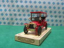 Vintage Minialux n°30  -  PANHARD & Levassor  1905  Tonneau - 1/43  France