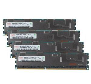 32G Hynix DDR3 4X 8GB 1333MHZ PC3-10600R 2RX4 ECC Reg-DIMM Server Memory RAM 9@1