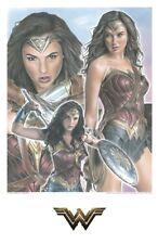 Wonder Woman Gal Gadot Limited Edition Convention Poster Art Print