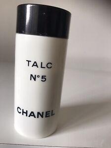 Vintage Chanel No5 - Body Powder Talc - 150g Small Amount Used