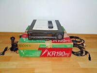 Sony SLV-KR190PS VHS Karaoke Videoplayer in OVP, w.NEU 2 Jahre Garantie