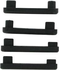 Kuryakyn Slim Rubber Pads for Transformer Floorboard Swingarm