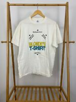 VTG Jerzees 90s Funny Blonde's How To Put On Short Sleeve T-Shirt Size L USA