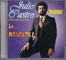 Salsa RARE CD FANIA First Pressing JULIO CASTRO ORQUESTA LA MASACRE mamey RUMBA