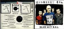 Midnight Oil cd album - 20,000 Watt R.S.L. (18 Classic Hits)