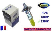 ► Ampoule Jaune ancien Marque Française VEGA® H1 130W Auto Moto 12V ◄