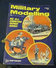 MILITARY MODELLING MARCH 1977 - MODEL ENGINEER EXHIBITION 1977