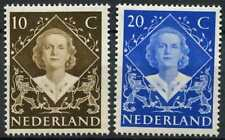 Netherlands 1948 SG#672-3 Coronation MH Set #D78405