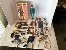 "Marx 12"" Johnny West Cowboy Doll, Box, and Accessories"