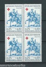 CROIX ROUGE - 1960 YT 1279 bloc de 4 - TIMBRES NEUFS** LUXE