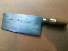 carbon steel handcrafted  CHEF'S cleaver Hong Kong