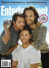 Entertainment Weekly Magazine Supernatural Jensen Ackles Jared Padalecki 2020  -