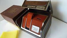 watch box in excellent condition Bulova Aucatr 00004000 on classic retro men;s
