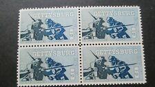 U.S. SCOTT 1180, MNH 5 CENT BLOCK OF 4  1963 GETTYSBURG