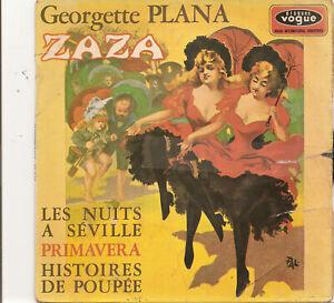 GEORGETTE PLANA   ZAZA   1968  BIEM EPL 8615