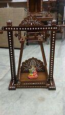 Rosewood Radha Krishna Jhulla Palki Temple Mandir (Folding)