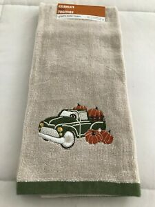 Celebrate Fall Together Bath Hand Towel / Bath Fingertip Towel New With Tags