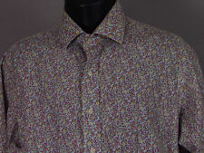 "Men's POLO RALPH LAUREN ""Regent"" Custom Fit Button Shirt + Micro Floral - 17 1/2"