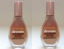 2x Maybelline Dream Wonder Nude Foundation Make Up 20 Cameo 20ml Neu
