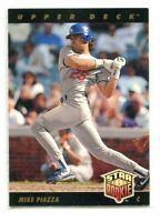 1993 Upper Deck Baseball #2 Mike Piazza RC Gold Hologram LOS ANGELES DODGERS #2
