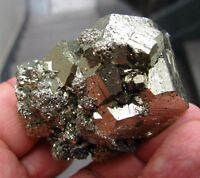 PYRITE BRILLIANT PENTADODECAHEDRAL CRYSTALS from PERU....ALL AROUND CRISTALLYZED