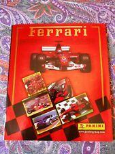 ALBUM FIGURINE FERRARI PANINI 2003 COMPLETO OTTIMO