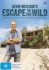 Kevin McCloud's - Escape To The Wild DVD - NEW & Sealed  ABC Grand Designs