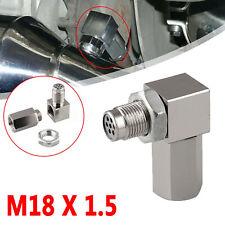 90° CEL O2 Oxygen Sensor Spacer Extender Socket Mini Catalytic Converter