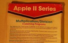 Multiplication / Division for Apple II Plus, Apple IIe, Apple IIC, Apple IIGS