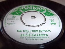 BRIDIE GALLAGHER-GIRL FROM DONEGAL/TAKE MESSAGE TO MOTHER BELTONA 2696 UK VG+ 45