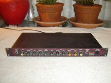 Vesta Fire Pr-1000, Instrument Preamplifier, Equalizer, Limiter, Vintage Rack
