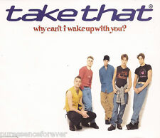 TAKE THAT - Why Can't I Wake Up With You (UK 4 Tk CD Single)