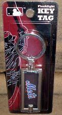 New York Mets Flashlight Key Chain Ring Key Tag Flashlight New