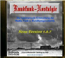 Röhren - Tube Radio Funk u. Rundfunk in Bild u. Ton