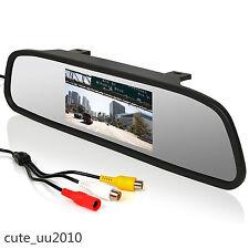 """4.3"""" TFT LCD Display Car SUV Rear View Backup Digital HD Screen Monitor NTSC/PAL"""