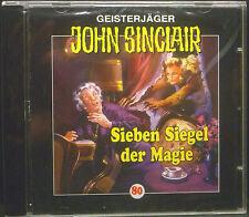CD CHASSEURS DE FANTÔMES JOHN SINCLAIR - épisode 80, sept joint la magie